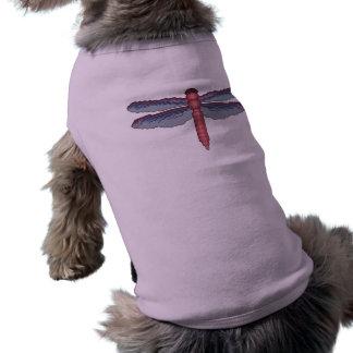 トンボ犬のワイシャツ ペット服