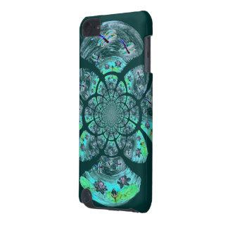 トンボ、ユリの花模様 iPod TOUCH 5G ケース