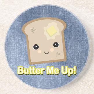 トーストの上の私にバターをつけて下さい コースター