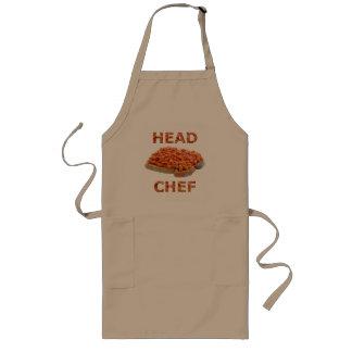 トーストの台所エプロンのヘッドシェフの豆 ロングエプロン