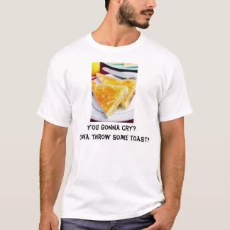 トーストを投げることを行くこと Tシャツ