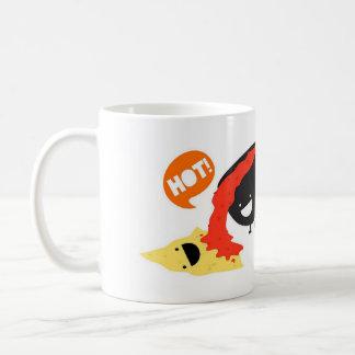トーティーヤおよびサルサのおもしろいで熱い冗談 コーヒーマグカップ