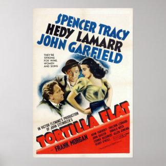 トーティーヤの平らな映画のポスター ポスター
