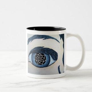 トーテムの目のマグ ツートーンマグカップ