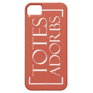 トートのAdorbsのiPhone6ケース[赤い] iPhone SE/5/5s ケース