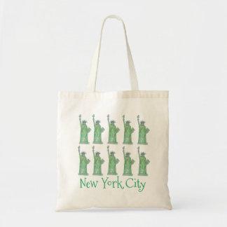 トートニューヨークシティNYCの女性自由の女神 トートバッグ