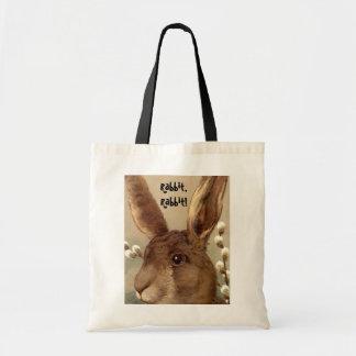トートバックのヴィンテージのウサギ、ウサギ! 記憶ギフト袋 トートバッグ