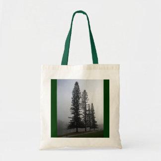 トートバックは、キャンバスの緑のハンドル袋に入れます トートバッグ