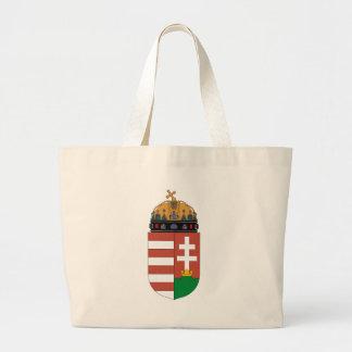 トートバックハンガリーの紋章付き外衣 ラージトートバッグ