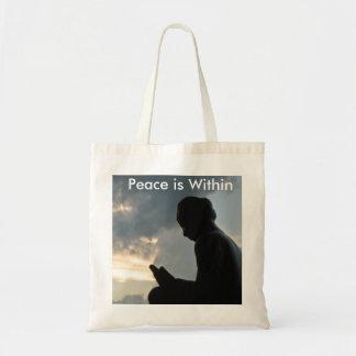 トートバック内の平和 トートバッグ