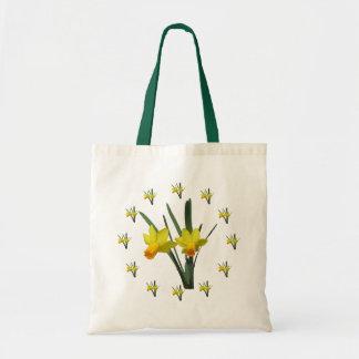 トートバック-ラッパスイセンの花 トートバッグ