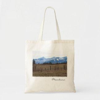 トートバック-国山の景色モンタナ トートバッグ