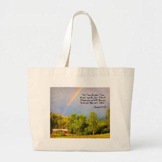 トートバック-私はのためのジェレミアの29:11…計画を…知っています ラージトートバッグ
