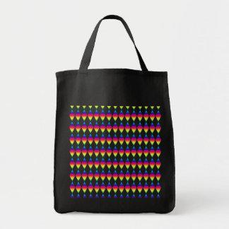 トートバック-虹のダイヤモンド トートバッグ