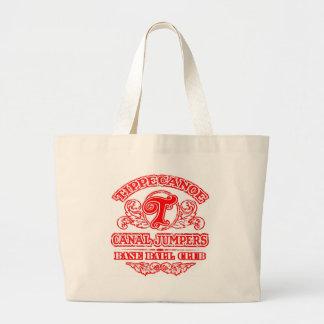 トート-レトロのロゴ ラージトートバッグ