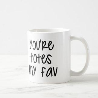 トートFavの私のマグ コーヒーマグカップ