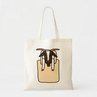 トートmaのヤギ(文字無し) トートバッグ