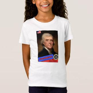 トーマス・ジェファーソンのベースボールカード Tシャツ