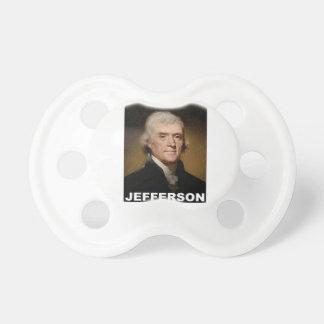 トーマス・ジェファーソンの写真 おしゃぶり