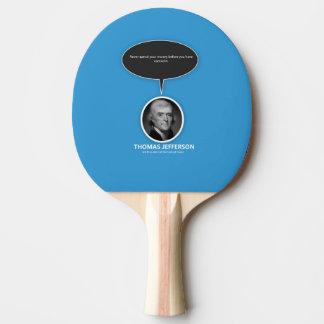 トーマス・ジェファーソンの卓球ラケット 卓球ラケット