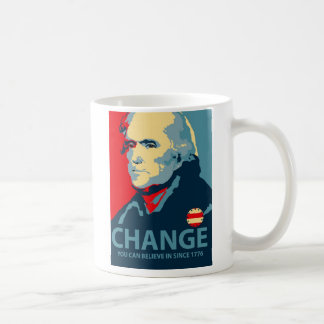 トーマス・ジェファーソンの変更 コーヒーマグカップ