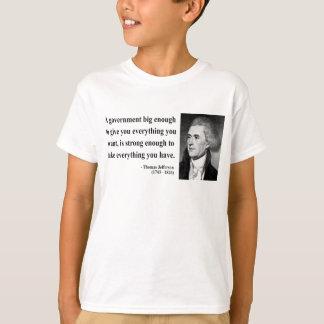 トーマス・ジェファーソンの引用文1b tシャツ