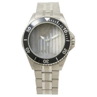 トーマス・ジェファーソンの記念の円のColonnade 腕時計