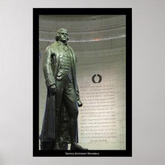 トーマス・ジェファーソンの記念物 ポスター