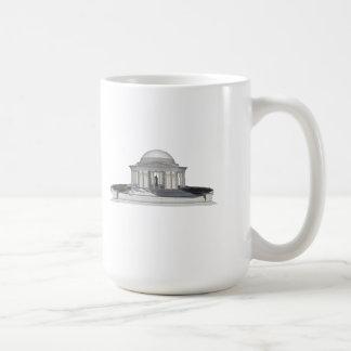 トーマス・ジェファーソンの記念物: 3Dモデル: コーヒーマグカップ