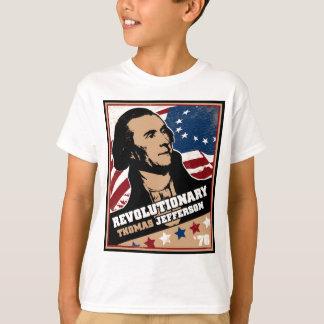 トーマス・ジェファーソンの革命家はTシャツをからかいます Tシャツ