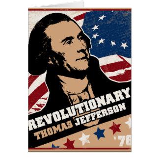 トーマス・ジェファーソンの革命家カード カード