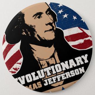トーマス・ジェファーソンの革命家ボタン 缶バッジ