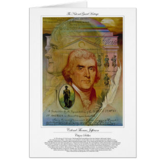 トーマス・ジェファーソン大佐の市民の兵士 カード