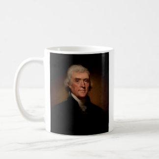トーマス・ジェファーソン大統領の署名のマグ コーヒーマグカップ