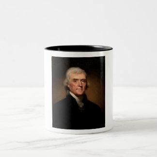 トーマス・ジェファーソン ツートーンマグカップ