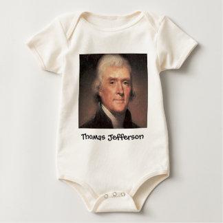 トーマス・ジェファーソン ベビーボディスーツ