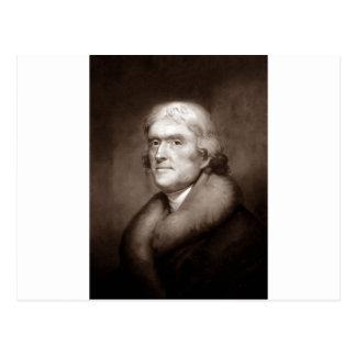 トーマス・ジェファーソン ポストカード