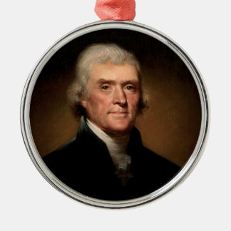 トーマス・ジェファーソン メタルオーナメント
