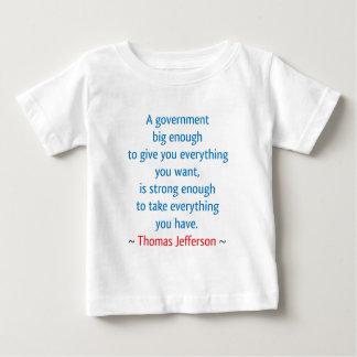 トーマス・ジェファーソン#1 ベビーTシャツ