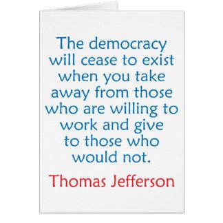 トーマス・ジェファーソン#2 カード