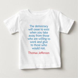 トーマス・ジェファーソン#2 ベビーTシャツ