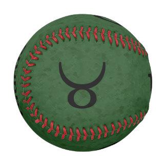 トーラスのブル・ホーンの(占星術の)十二宮図の記号 野球ボール