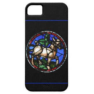 トーラスの占星術のゴシック様式ステンドグラスのIphoneの場合 iPhone SE/5/5s ケース