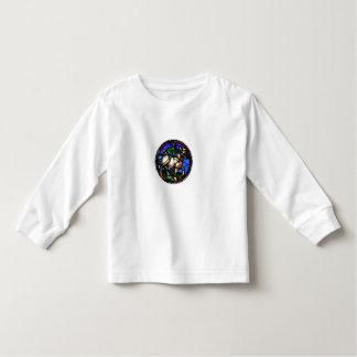 トーラスの占星術のステンドグラスWindows - Tシャツ