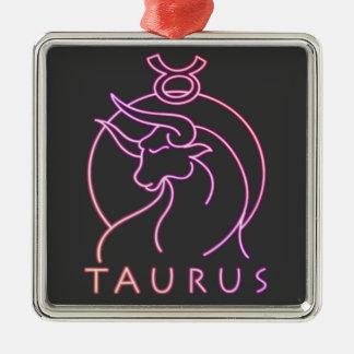 トーラスの(占星術の)十二宮図の占星術 メタルオーナメント