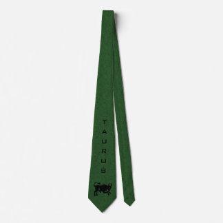 トーラスの(占星術の)十二宮図の印および名前の緑 カスタムタイ