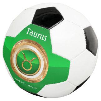 トーラスの(占星術の)十二宮図の印 サッカーボール