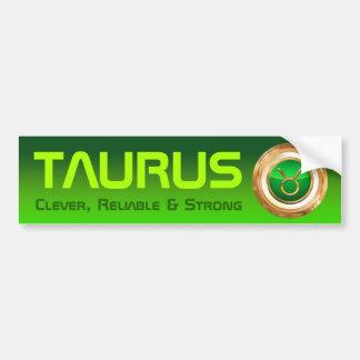 トーラスの(占星術の)十二宮図の記号 バンパーステッカー