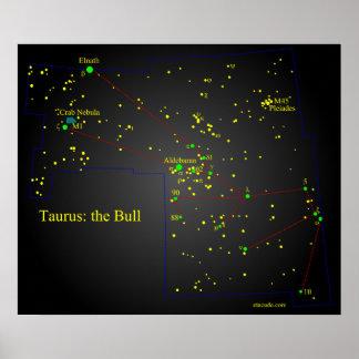 トーラスBullの星座 ポスター