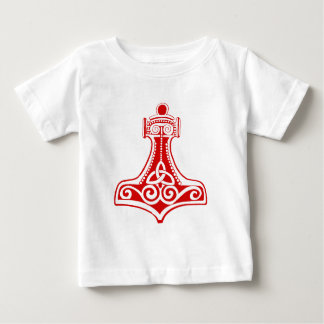 トールのハンマー ベビーTシャツ